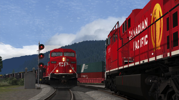 скриншот Train Simulator: Canadian Pacific AC4400CW Loco Add-On 5