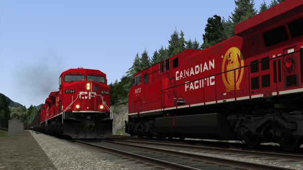 скриншот Train Simulator: Canadian Pacific AC4400CW Loco Add-On 3