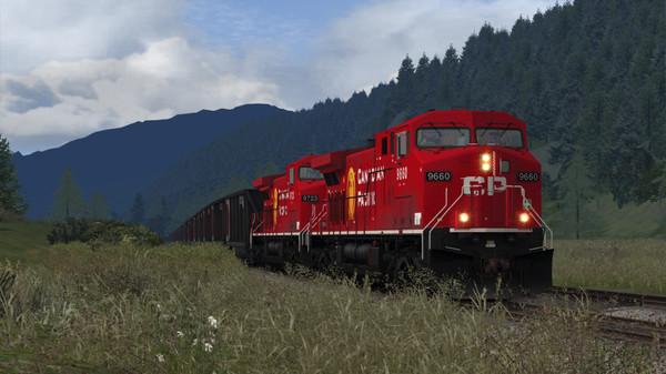 скриншот Train Simulator: Canadian Pacific AC4400CW Loco Add-On 0