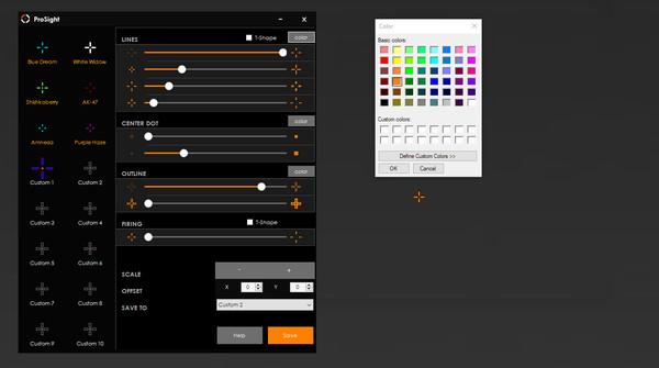 Скриншот из Crosshair X