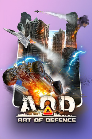 AOD: Art Of Defense poster image on Steam Backlog