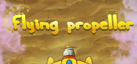 Flying propeller cover art
