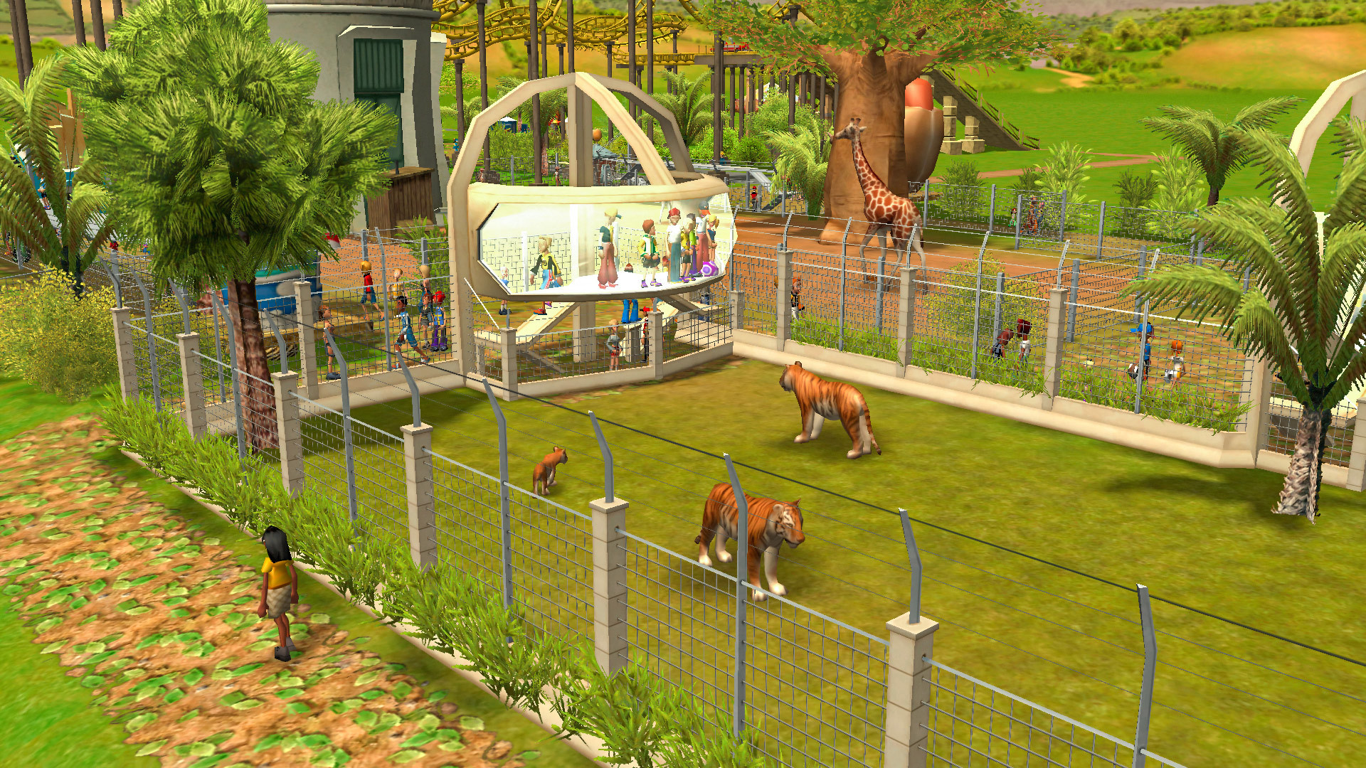 RollerCoaster Tycoon 3 Complete Edition screenshot