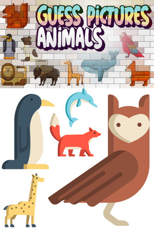 Guess Pictures - Animals poster image on Steam Backlog