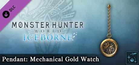 Monster Hunter World: Iceborne - Pendant: Mechanical Gold Watch