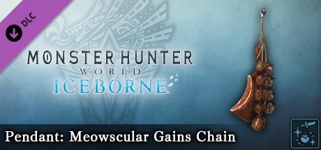 Monster Hunter World: Iceborne - Pendant: Meowscular Gains Chain