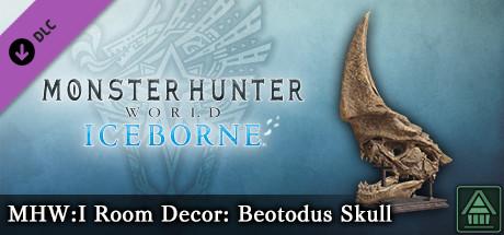 Monster Hunter World: Iceborne - MHW:I Room Decor: Beotodus Skull