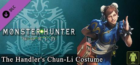 Monster Hunter: World - The Handler's Chun-Li Costume