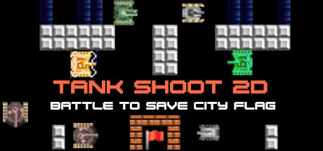 View Tank Shoot 2D - Battle to save City Flag on IsThereAnyDeal