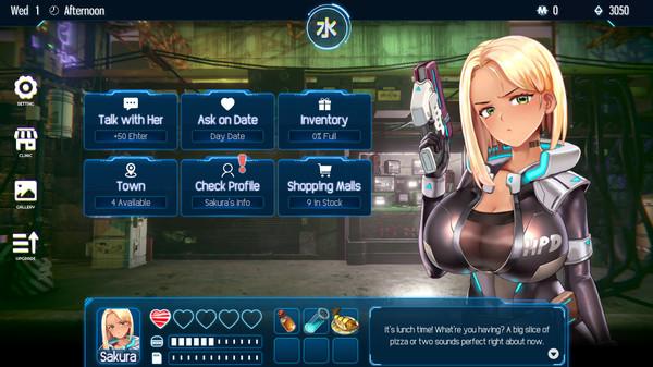 Cyber Crush 2069 Free Steam Key 1
