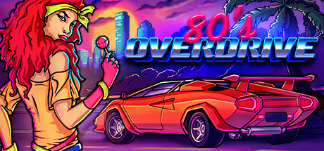 80's OVERDRIVE cover art