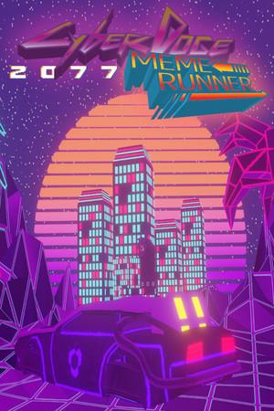 Cyber-doge 2077: Meme runner poster image on Steam Backlog