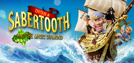 Image for Captain Sabertooth and the Magic Diamond