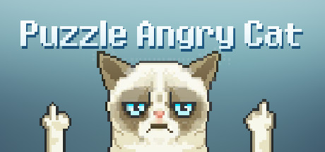 Puzzle Angry Cat