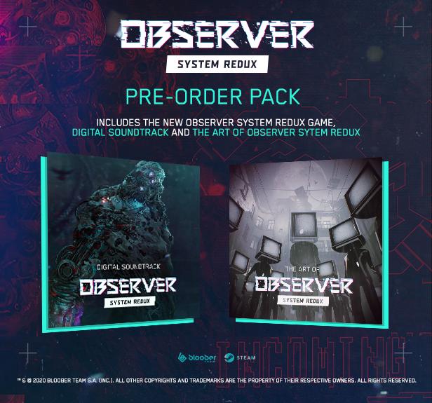 Los poseedores de Observer tendrán que comprar Observer: System Redux si quieren tener acceso a las mejoras 1