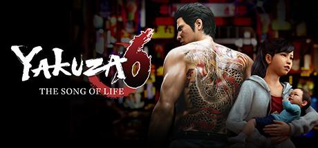 Yakuza 6: The Song of Life cover art