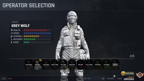 War Identity Game gameplay