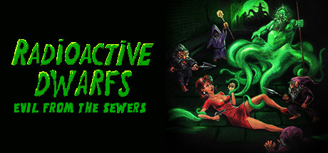 Radioactive dwarfs: evil from the sewers cover art