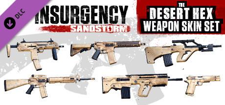 Insurgency: Sandstorm – Desert Hex Weapon Skin Set