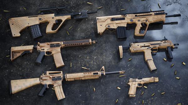 Скриншот №1 к Insurgency Sandstorm - Desert Hex Weapon Skin Set