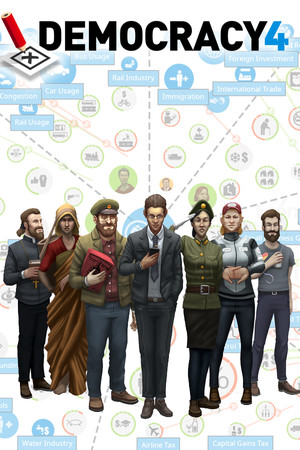 Democracy 4 poster image on Steam Backlog