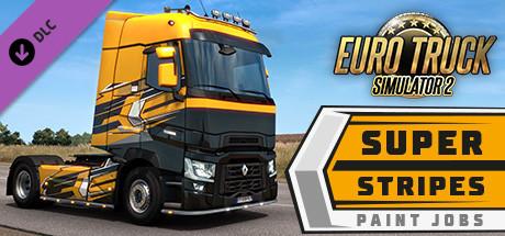 Euro Truck Simulator 2 - Super Stripes Paint Jobs Pack