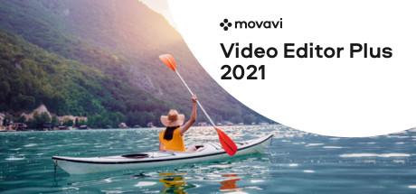 Movavi Video Editor Plus 2021 cover art