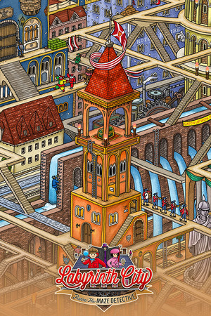 Labyrinth City: Pierre the Maze Detective poster image on Steam Backlog