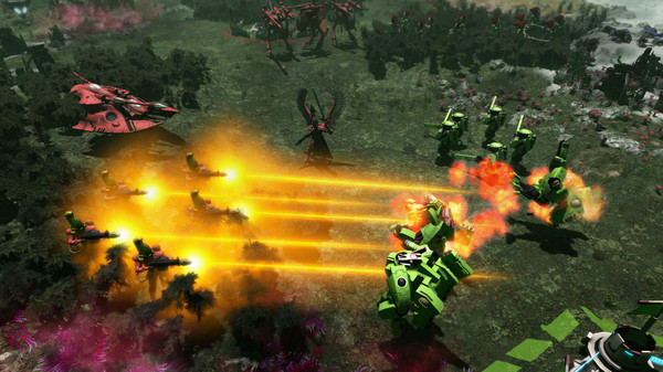 Capture d'écran n°5 du Jeu Warhammer 40,000: Gladius - Craftworld Aeldari