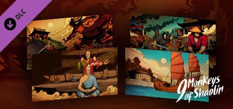 9 Monkeys of Shaolin - HD Wallpapers