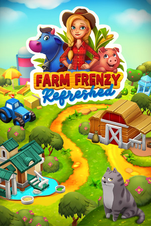Farm Frenzy: Refreshed poster image on Steam Backlog