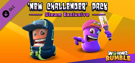 Worms Rumble - New Challengers Pack cover art