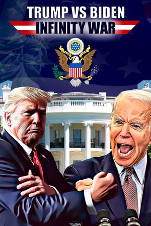 Trump vs Biden: Infinity war poster image on Steam Backlog