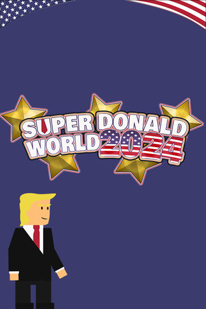 Super Donald World 2020 poster image on Steam Backlog