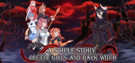 Pretty Girls and Dark Witch. A simple story cover art