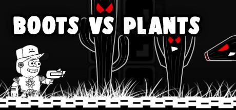 BOOTS VS PLANTS cover art