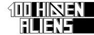 100 hidden aliens