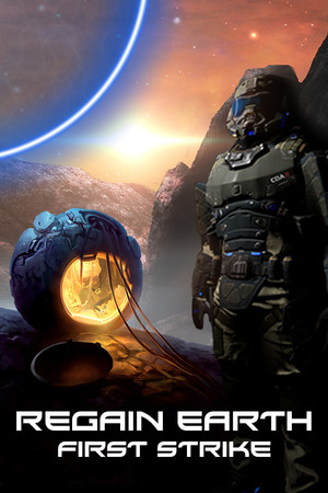 Regain Earth: First Strike poster image on Steam Backlog