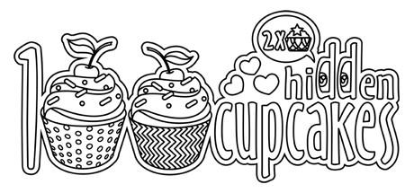 100 hidden cupcakes cover art