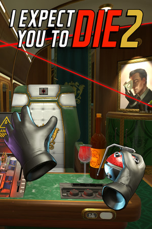 I Expect You To Die 2 poster image on Steam Backlog