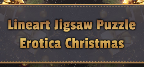LineArt Jigsaw Puzzle - Erotica Christmas cover art