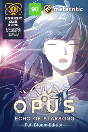 OPUS: Echo of Starsong poster image on Steam Backlog