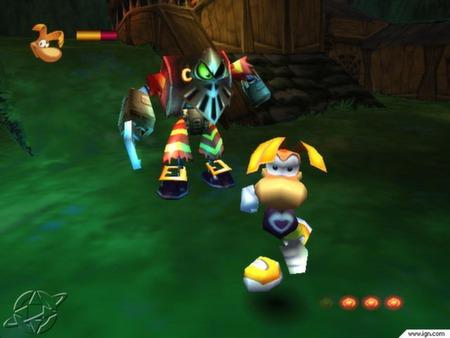 Скриншот из Rayman 2 - The Great Escape