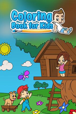 Coloring Book for Kids poster image on Steam Backlog