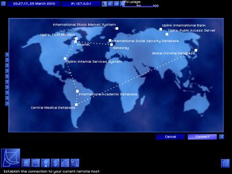 Скриншот из Uplink