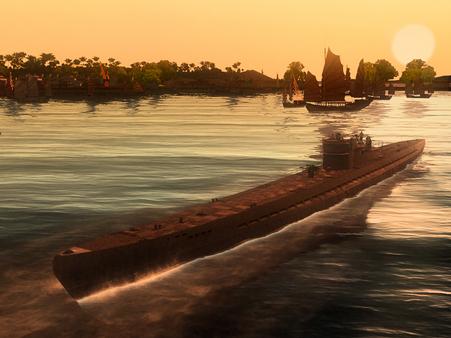 Скриншот из Silent Hunter: Wolves of the Pacific U-Boat Missions