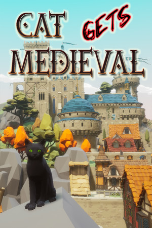 Cat Gets Medieval poster image on Steam Backlog