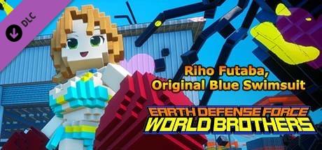 Купить EARTH DEFENSE FORCE: WORLD BROTHERS - Additional Character: Riho Futaba, Original Blue Swimsuit (DLC)