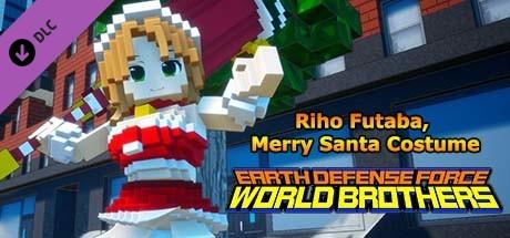 Купить EARTH DEFENSE FORCE: WORLD BROTHERS - Additional Character: Riho Futaba, Merry Santa Costume (DLC)