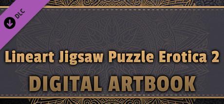 LineArt Jigsaw Puzzle - Erotica 2 ArtBook cover art